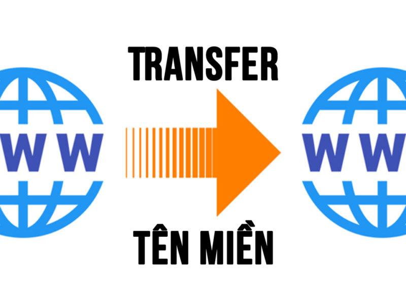 Transfer Tên Miền như thế nào?